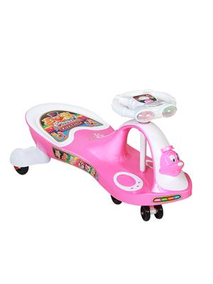 Playtool LW-PI021 White Pink Duck Swing Car Light and Music