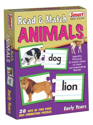Smart Toys Lw-St016 Read & Match Animals
