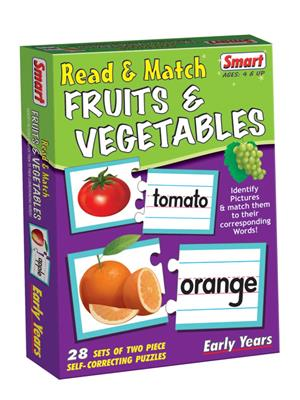 Smart Toys Lw-St017 Read & Match Fruits & Vegetables