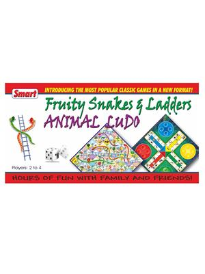 Smart Toys Lw-St046 Fruity Snakes & Ladders, Ludo