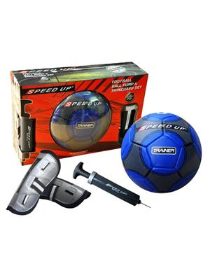 Speed Up Lw-Su021 Blue Football Pack Of 3