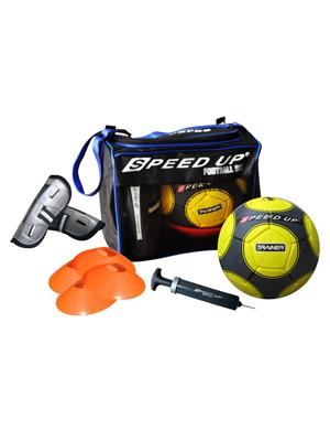 Speed Up Lw-Su024 Yellow Football Pack Of 5