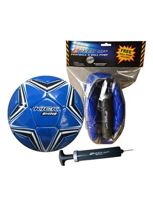 Speed Up Lw-Su025 Blue Football Pack Of 2