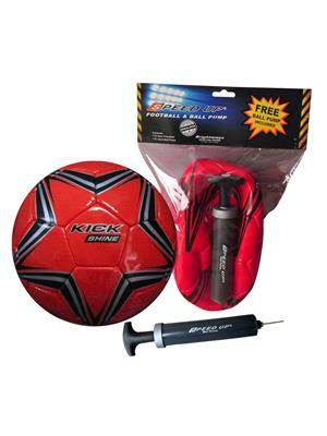 Speed Up Lw-Su025 Red Football Pack Of 2