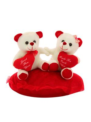 Dealbindaas Lw-Vk023 White Teddy Bear