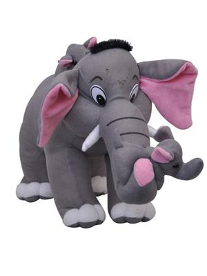 Dealbindaas Lw-Vk070 Grey Tic Elephant Family Animal