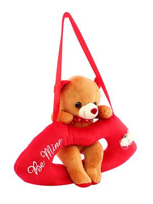 Dealbindaas Lw-Vk081 Brown Lip Cute Teddy Bear