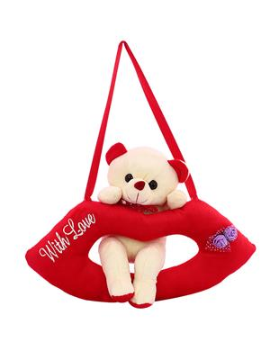 Dealbindaas Lw-Vk081 White Lip Cute Teddy Bear