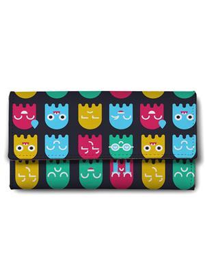 Shopmantra LW00000110 Multicolored Women Wallet