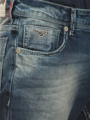 Lawman PG-03BKN-25STR Blue Men Jeans