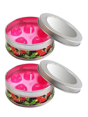 LUXANTRA LX-FruitCandle(Cherry2PC) Multicolor Candle