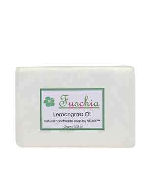 Fuschia Lemon Grass Oil Natural Handmade Herbal Soap