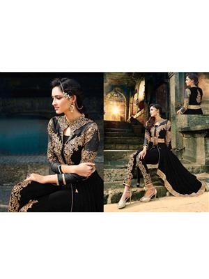 Rahi Fashion Leo-Black Women Salwar Suit