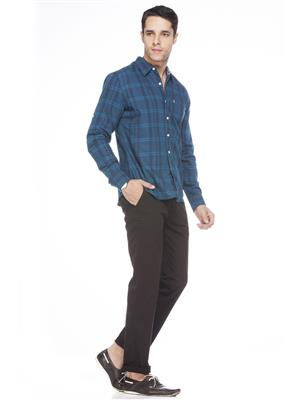 Levis 16453-0016 Blue Casual Shirts