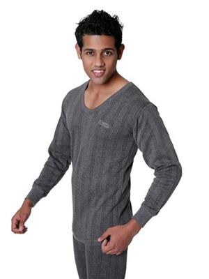 Lux Inferno 31501 Grey Mens Top Thermal