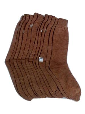 Fablook Lwo0012 Brown Women Socks Set Of 6