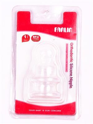 Farlin M-1-2 Unisex-Baby Bottle Nipples