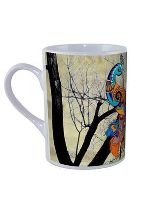 Kolorobia M8PC11 Peacock Cream Mug