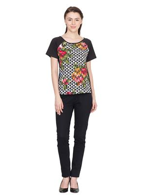 Golden Couture 0168 Multicolored Women T-Shirt