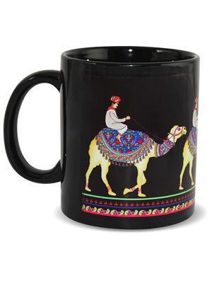 Kolorobia MBC16 Royal Camel Black Mug