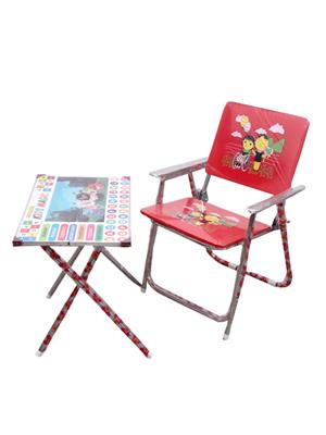 Sv Enterprises Mbtc001 Red Kids Table With Chair