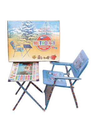 Sv Enterprises Mbtc002 Blue Kids Table With Chair