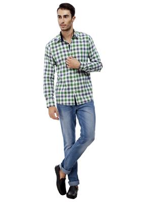 Trendy Banday TBMJ16 Multicolored Men Casual shirt