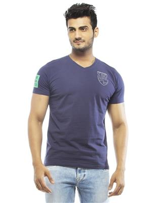 Spykar RTS-S15-35 Blue Men T-Shirt