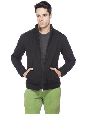 Numero Uno  CMJKFZ12 Black Men Full Sleeves Jacket