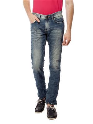 Spykar SKN-S15-18 Blue Men Jeans