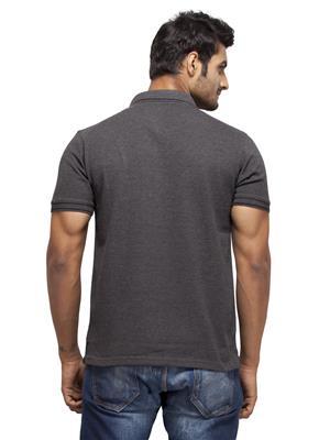 Punjabi Heritage PHBC-03 Black Solid Men T-shirt