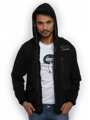 Absurd ABMS14-139 Men Black Jacket