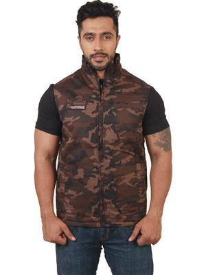 Absurd ABMS14-165 Men Brown Jacket