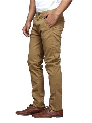 Spykar CORPS-S15-01 Brown Men Trouser