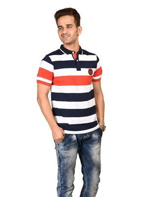 Numero Uno  NMFNHZ-517 Multicolor Mens Tshirts