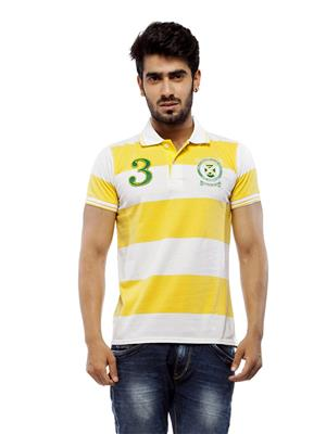 Trendy Bandey Men TB49 White Tshirt