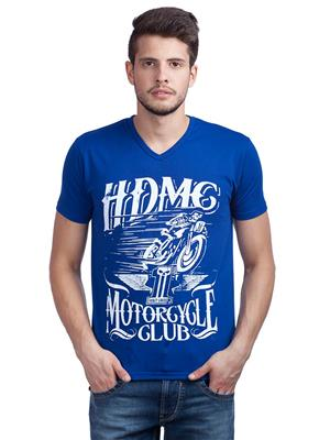 Trendy Bandey 1206 Blue Men T-Shirt