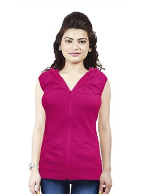 Modish Md-Tp1909-Dp-Pnk Pink Women Sweatshirt