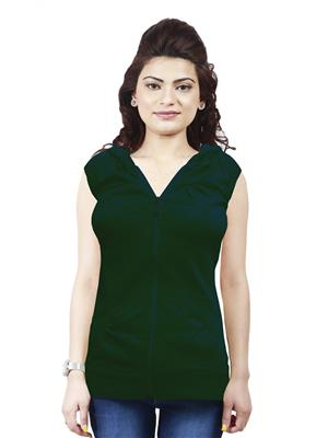 Modish Md-Tp1909-Grn Green Women Sweatshirt