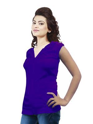 Modish Md-Tp1909-Ppl Purple Women Sweatshirt