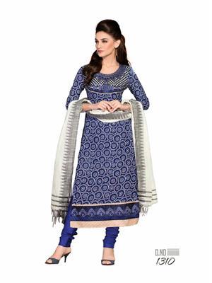 M.D. Creation MD1310 Multicolor Women Dress Material
