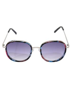 Eye Candy Me-7781-Ce465 Blue Women Over-Sized Sunglasses