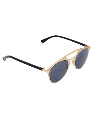 Eye Candy Me-7781-Ce468 Golden Women Round Sunglasses