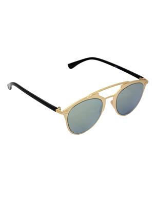 Eye Candy Me-7781-Ce470 Golden Women Round Sunglasses