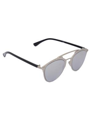 Eye Candy Me-7781-Ce471 Silver Women Round Sunglasses