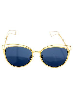 Eye Candy Me-7781-Ce476 Golden Women Oval