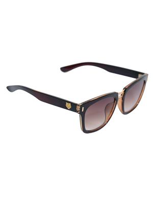 Eye Candy Me-7781-Ce493 Brown Women Rectangular Sunglasses