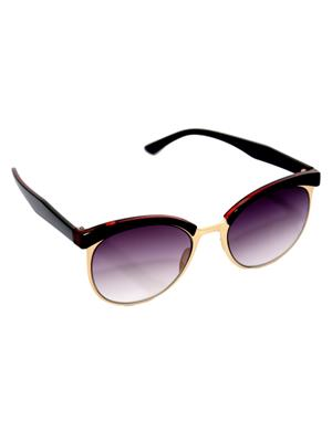 Eye Candy Me-7781-Ce500 Red Women Round Sunglasses