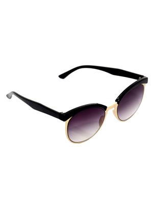 Eye Candy Me-7781-Ce501 Black Women Round Sunglasses