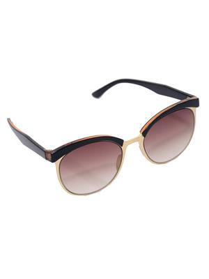Eye Candy Me-7781-Ce502 Brown Women Round Sunglasses